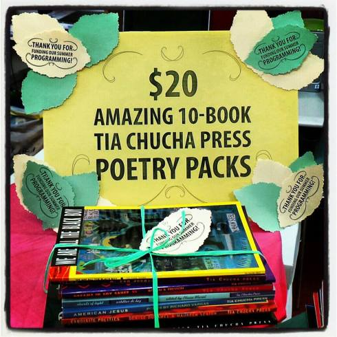 Tia Chucha Press Offers A Rare Deal on Bundle of Poetry Books